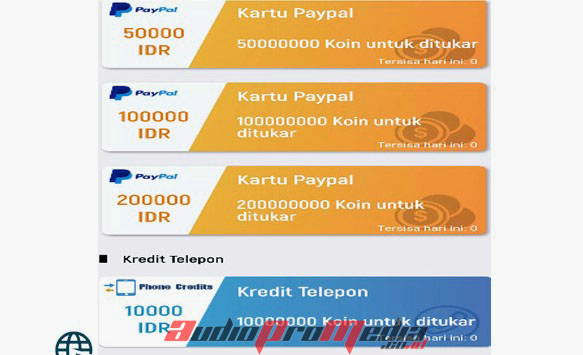 Lucky Time Paypal